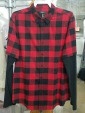 Men's Long Sleeve Plaid with 3/4 plaid sleeve FOREVER 21