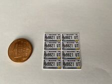 1/24 Scale Maine License Plate Decals For Die-cast Models