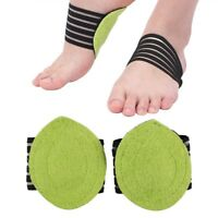 Foot Heel Pain Relief Plantar Fasciitis Insole Pad & Arch Support Shoes Insert.