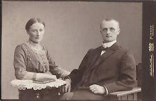 Portrat di un coniugi per 1870-artisti: atelier Carl migliore, Minden-LUSSO