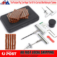 37XTire Puncture Plug Tyre Repair Tool Kit For Car Auto Bike Motorcycle Tubeless