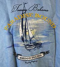 "Tommy Bahama XL ""PARADISE BOUND"" Linen short sleeve Shirt RARE"