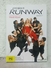 Project Runway SERIES Season ONE 1 (DVD SET) FASHION REALITY TV - OVER 9 HOURS !