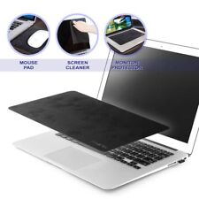 3 in 1 Ultra-Thin Anti-Slip Laptop PC Mat Mouse Pad For Optical Laser Mouse