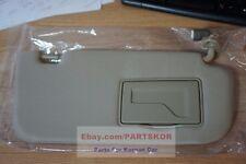 For 2006 2007 2008 Kia Optima RH Passenger Side Sun Visor Beige J7 Genuine  Part 0b49b1919c5