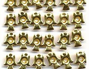 """Brass Color ANGELS 1/8"""" EYELETS Christmas Scrapbooking Card Making Stamping"""