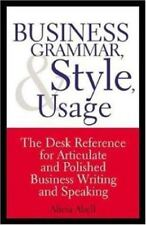 Business Grammar, Style & Usage: The Most Used Desk Reference for-ExLibrary