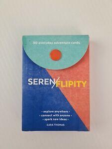 Serenflipity 30 Everyday Adventure Cards by Cara Thomas Novelty Explore Gift Kit