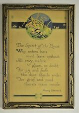 "Mary Stewart ""The Spirit of the House"" Poem Picture Frame"