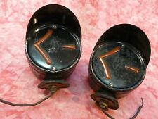 RARE ARROW double side hooded turn signal arrow lights, working,hot rat rod pair