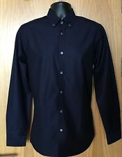 Ted Baker Men's Navy Spotout Shirt -M