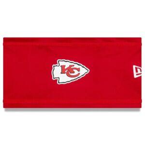 2021 Kansas City Chiefs New Era NFL Training Skull Headband On Field Stretch Cap