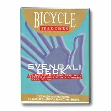 Magic | Card trick | Svengali Deck Bicycle (Red)