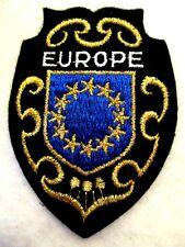 ÉCUSSON EUROPE ♦  BRODÉ ♦