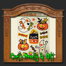 WINDOW CLING KIDS CANDY MIX Halloween Haunted Prop