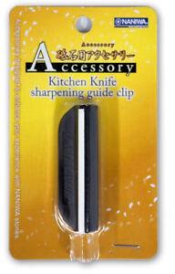 Japanese Naniwa Accessory Ceramic ABSresin Kitchen Knife Sharpening Guide Clip