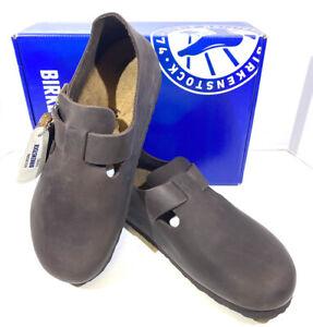 Birkenstock London BS Women's Size 10 (EU41)Reg Fit Brown Leather Shoes S1-559