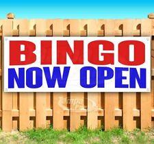 Bingo Now Open Advertising Vinyl Banner Flag Sign Many Sizes
