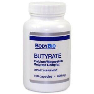 Butyrate (Calcium/Magnesium) BodyBio 100 Kps von BodyBio (39,27€/1Stk)