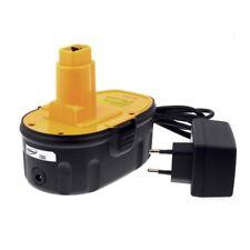 Akku für Dewalt Typ DW9096 2000mAh Li-Ion inkl. Ladegerät 18V 2000mAh/36Wh Li-