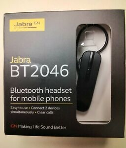 Jabra BT2046 Bluetooth Headset For Mobile Phones NEW IN BOX