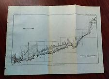1900 Contour Map of USGS,Guthrie Reservoir Site