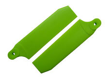 KBDD Neon Lime 84.5mm Extreme Tail Rotor Blades - Trex 550E Goblin 500 #4090