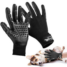 Pet Grooming Glove, Efficient Pet Hair Remover Brush for Bathing, Breathable Des