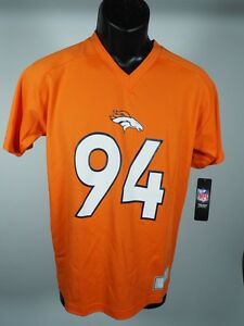 Denver Broncos Official NFL Apparel Kids Youth Size DeMarcus Ware Jersey New