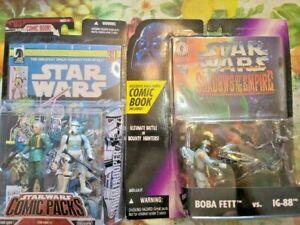 Star Wars Governor Tarkin/Stormtrooper #2 Comic Pack/SHADOW EMPIRE BOBA FETT