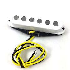 White Alnico 5 Big Pole Middle Pickup for Fender Stratocaster/Strat® PU-SBA-MW