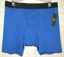 7274da6640c740 New Mens XL 40-42 Blue Boxer Brief 6