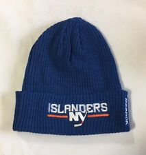 New York Islanders Knit Beanie Toque Winter Hat Cap NHL New Center Ice Cuffed