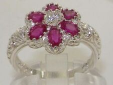 Oval Anniversary Ruby Fine Rings