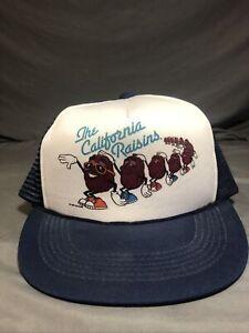 The California Raisins Trucker Hat (1987) Snap Back Calrab NEW 🔥