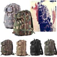 30L Military Molle Tactical Backpack Rucksack Camping Hiking Trekking Bag Top BP