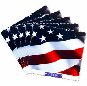 Clearly American by  USA Microfiber Cleaning Wipes, Dust-Free, Non-Scratch