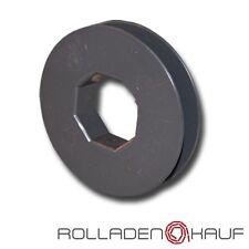 Gurtscheibe Mini Ø 85 mm für Mini Gurtband SW40 8-kant Stahlwelle Rolladen