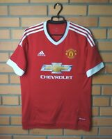 Manchester United Jersey 2015 2016 Home MEDIUM Shirt Adidas Trikot Maglia