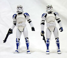 2007 Hasbro Target Star Wars 2 x ARC 170 Elite Squad Clone Action Figures Loose