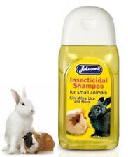Johnson's Insecticidal Rabbit Ferret Guinea Pig Shampoo Kills Mites Lice Fleas