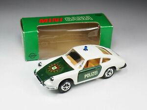 GAMA MINI - 9736 - Porsche 911 «Polizei» - En boite - Germany