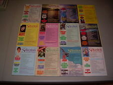#11 Lot of all 12 months Sélection du Reader's Digest Complete Year 1988