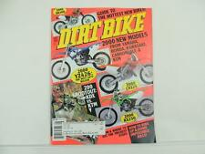 August 1999 DIRT BIKE Magazine Yamaha Y2426 Honda CR125 Kawasaki KX250 L4734