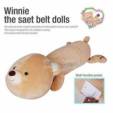 Multi Car Winnie Seat Belt Dolls Cover Pocket Safety Cushion 1ea For All Vehicle
