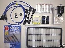 Tune Up Kit Toyota Sienna 1998 to 2000 All Filters NGK Spark Plugs NGK Wires