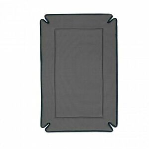 """K&H PET PRODUCTS 7925 Gray ODOR-CONTROL DOG CRATE PAD GRAY 21"""" X 31"""" X 0.5"""""""