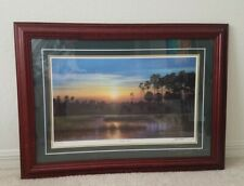 SC Jim Booth Framed Matted Classic Edition PRINT Majestic Marsh Signed To Jeanne