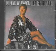 DIONNE WARWICK - Heartbreaker CD Album 10TR Germany 1983 (ARISTA) Barry Gibb