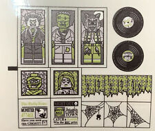 Custom Replacement Stickers for Lego Haunted House 10228